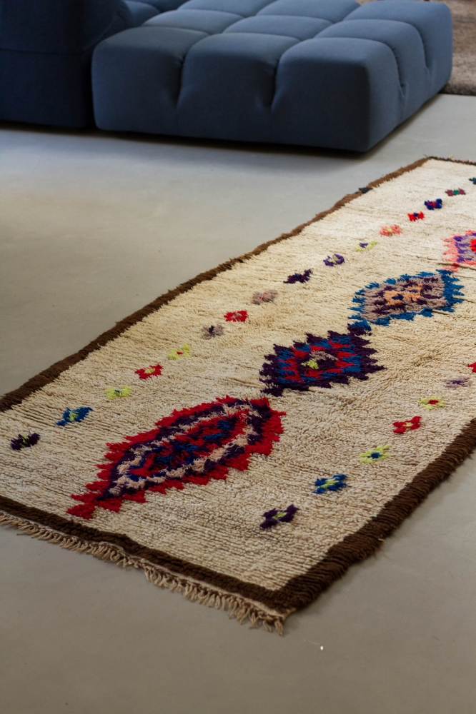 Le Tapis Ourika Long Cuivre D Tails Vintage Ethniques Et Graphiques